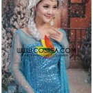 Cosrea Frozen Elsa Sequin Beaded Blue Cosplay Costume