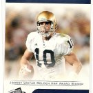2007 Press Pass Brady Quinn,Trophy Club Winner #70
