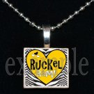 RUCKEL RAMS Team Mascot Pendant Necklace or Keychain