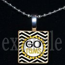 GO RUCKEL RAMS Team Mascot Pendant Necklace Charm or Keychain
