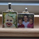 *TOP SELLER* Personalized Photo Custom Any Image Scrabble Tile Necklace Charm or Key-chain