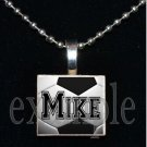 Personalized Custom Name SOCCER Scrabble Tile Necklace Charm Key-chain Gift