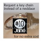 Personalized Custom Name Team VOLLEYBALL Scrabble Tile Key-chain