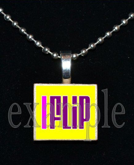 I FLIP Gymnastics GYM Team Scrabble Necklace Pendant Charm Key-chain Gift