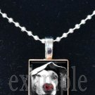 Personalized Custom ANY Image Pet DOG/PUPPY Tile Pendant Necklace Charm or Key-chain