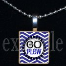 GO JAMES E PLEW PANTHERS Elementary School Team Mascot Pendant Necklace Charm or Keychain
