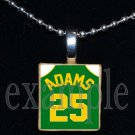 ADDIE R LEWIS FALCONS PERSONALIZED BASKETBALL JERSEY School Team Mascot Necklace or Keychain