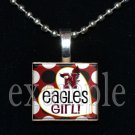NICEVILLE HS EAGLES GIRL School Team Mascot Pendant Necklace Charm or Keychain