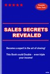 Sales Secrets Revealed