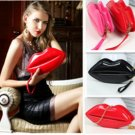 Women Ladies Sexy Red Lip Clutch Bags Chain 9 Color Options FREE SHIPPING WORLDWIDE
