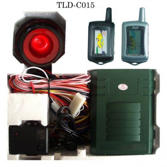 TLD-I Car Alarm w/Remote Engine Start