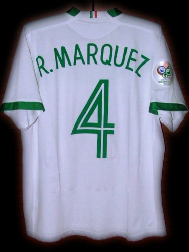 b54aceef1 2006 Mexico Away R.Marquez 4 Fifa World Cup Final 2006 Patch ...