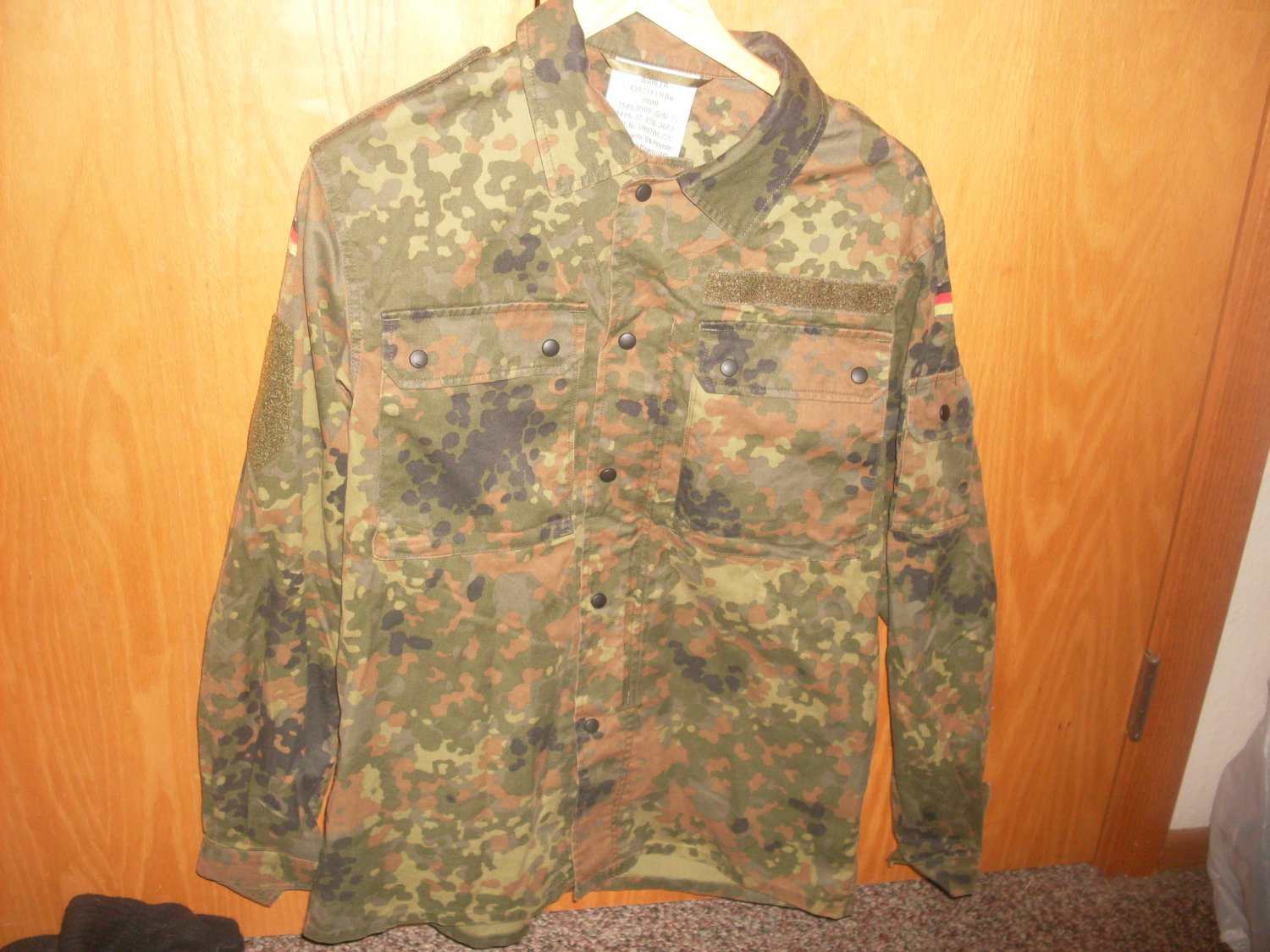 Large Flecktarn Shirt