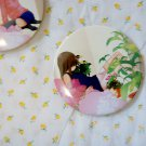 Round hand mirror (flower girl side)