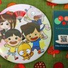 Tin Button (Matsuri Characters)