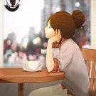 postcard (rainy cafe)