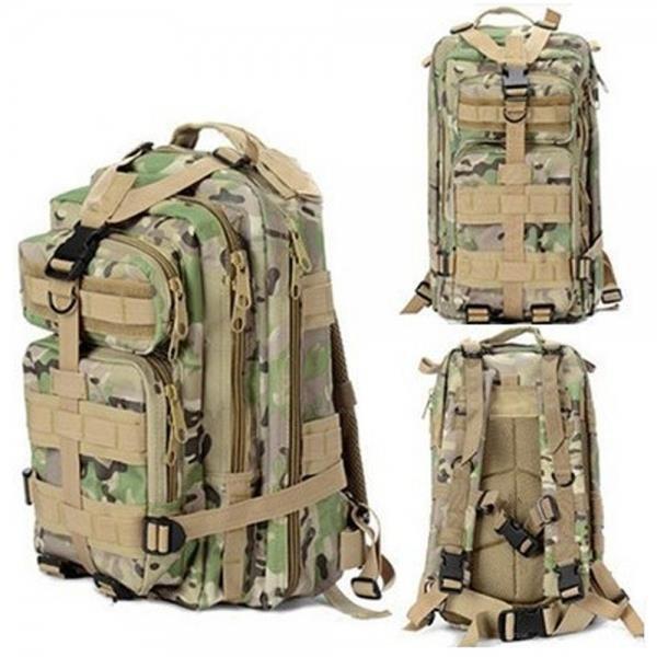3P Outdoor Sport Camping Hiking Trekking Bag Military Tactical Rucksack Backpack
