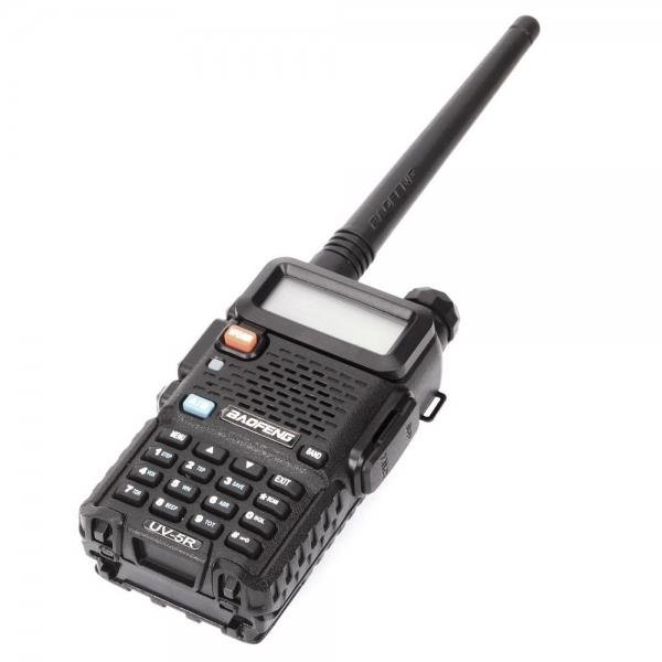 "1.5"" LCD 5W 136~174MHz / 400~470MHz Dual Band Walkie Talkie with LED Flashlight"