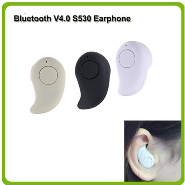 Mini Wireless Bluetooth V4.0 Earphone Stereo Sport Headphones In-Ear Headset