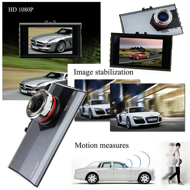 A8 Newfashioned 170-Degree Ultra Wide Angle Lens 5.0MP 1080P HD Car DVR Recorder