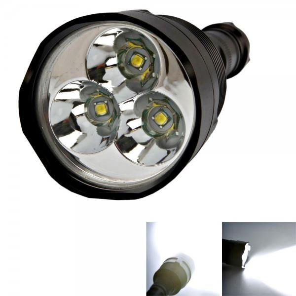 TrustFire 5 Modes 3800LM LED Flashlight Electric Torch Black