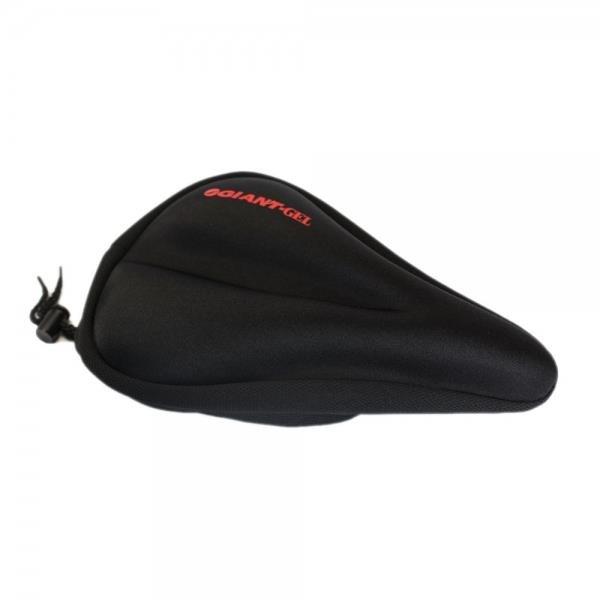 New Bike Soft Gel Saddle Seat Cover Cushion AL for Mountain Cycle Black