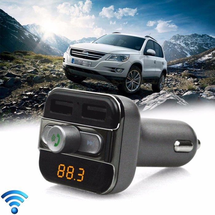 BT20 Wireless Bluetooth FM Car Transmitter Modulator LED MP3 Player SD Dual USB