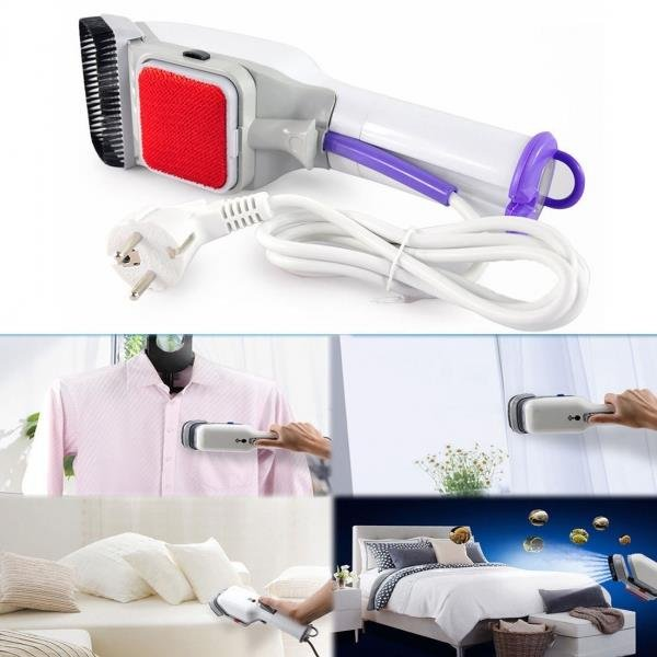 Family Handheld Fabric Iron Steam Laundry Clothes Garment Steamer Brush US ship
