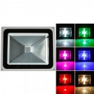 10W RGB Aluminium Alloy LED Flood Light with IP65 Waterproof & Remote Control