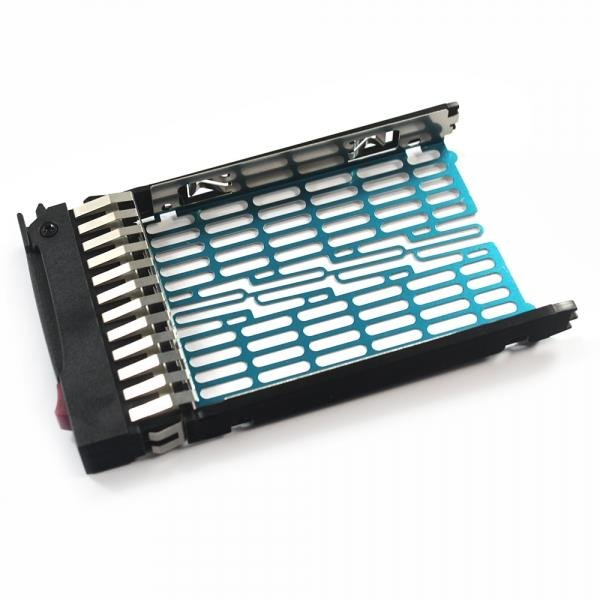 "2.5"" SAS SATA Hard Drive Tray Caddy for HP 378343-002 DL380 DL360 G6 Silver"
