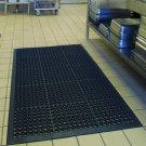 "60x35"" Heavy Duty Large Non-slip Mat Bar Kitchen Anti-fatigue Drainage Non-slip"