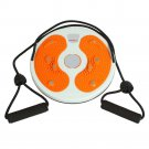 Twist Waist Torsion Body Massage Board Aerobic Foot Exercise Fitness Disc Orange