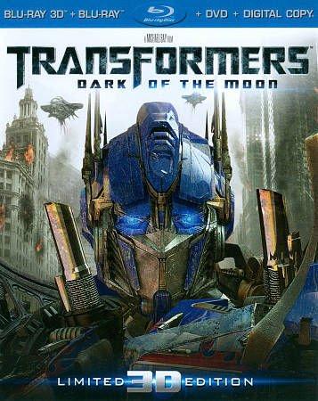 Transformers: Dark of the Moon (Four-Disc Combo: Blu-ray 3D / Blu-ray / DVD) (2011)