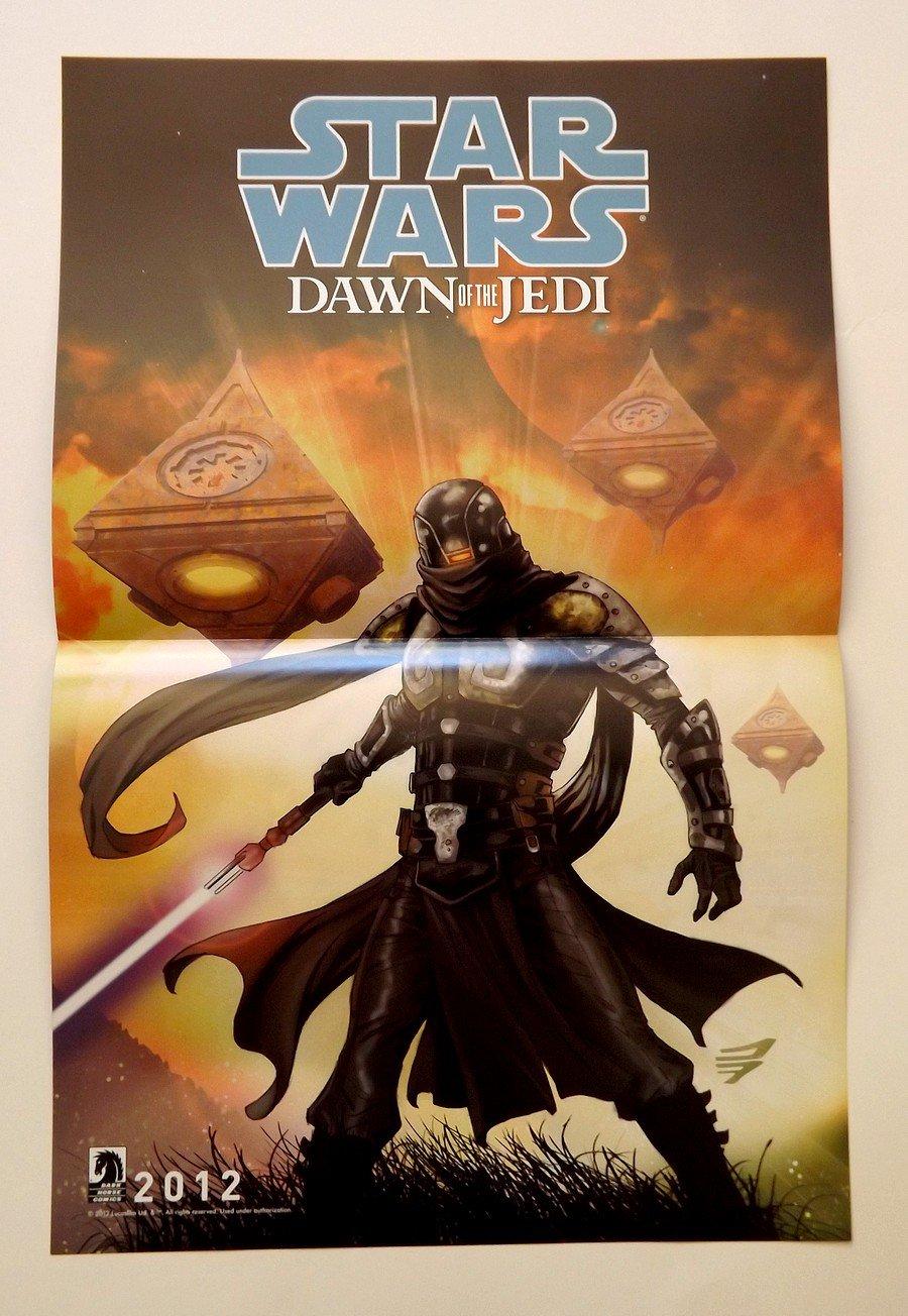 SDCC Comic Con 2012 STAR WARS Dawn of the Jedi / Knight Errant Promo Poster