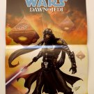 SDCC Comic Con 2012 STAR WARS Dawn of the Jedi / Knight Errant Promo Poster
