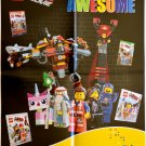 DK Books LEGO MOVIE Everything is Awesome 17x22 Promo Poster - SDCC 2014 Swag