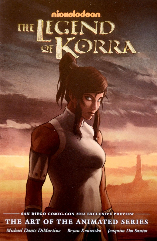 Avatar LEGEND OF KORRA Preview Booklet Comic SDCC 2013 -Dark Horse Nickelodeon