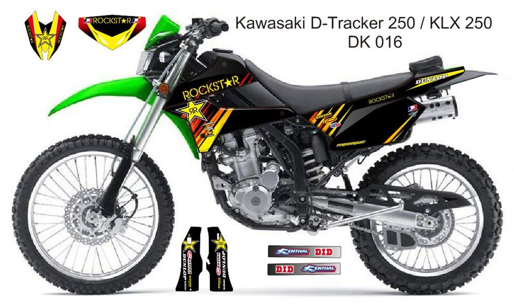 KAWASAKI D TRACKER 250 / KLX 250 GRAPHIC DECAL KIT CODE.DK 016