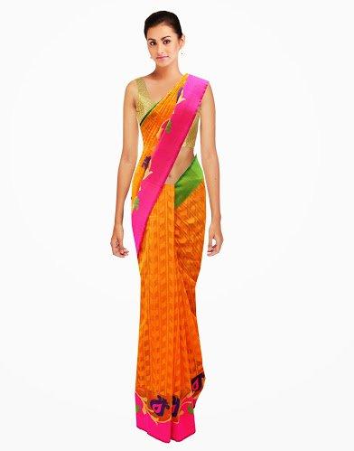 Bewitching Designer Partywear Traditional Saree