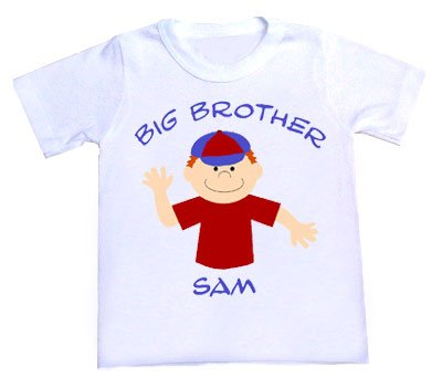 Big Brother Personalized T-Shirt