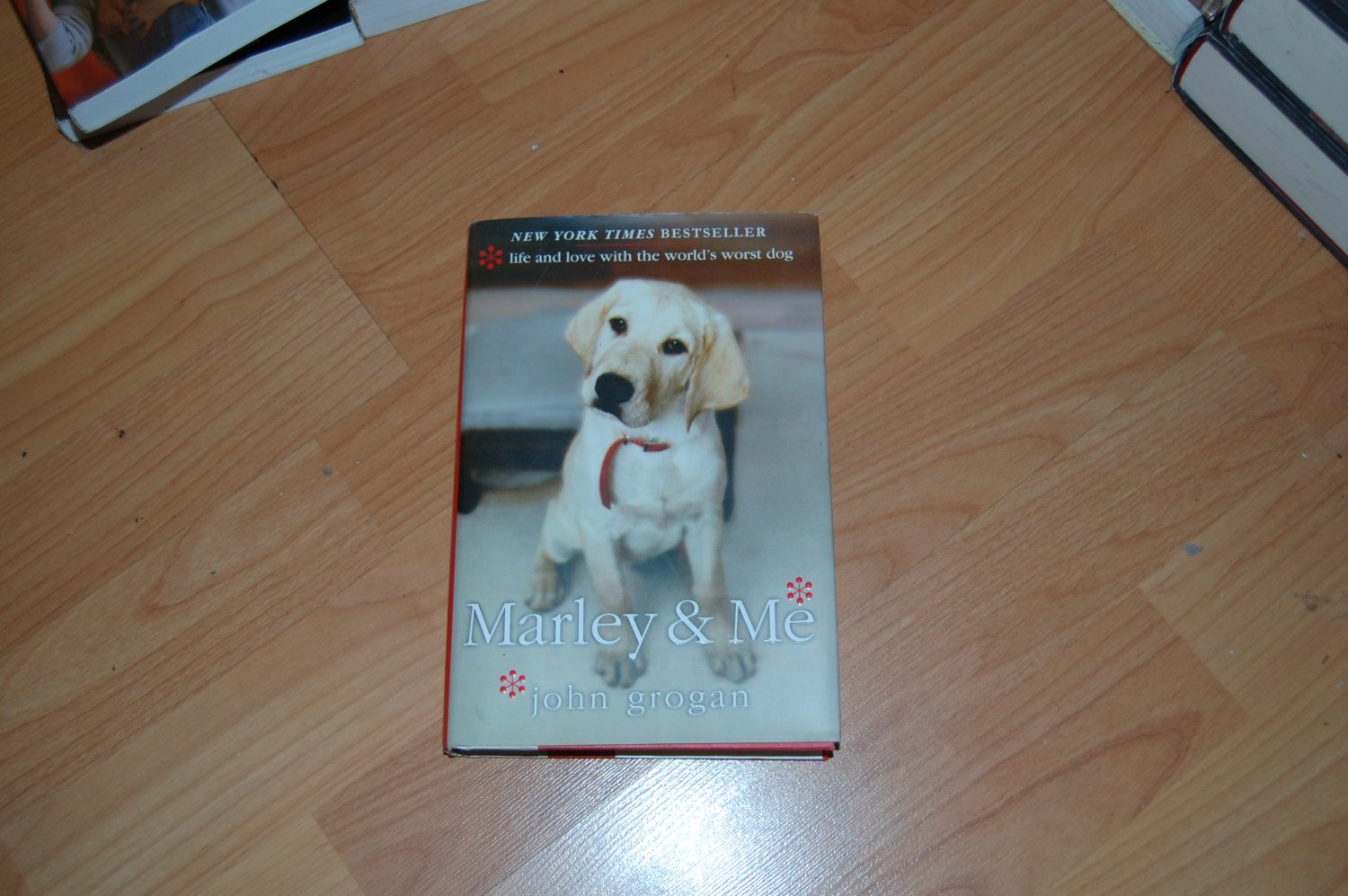 Marley & Me Hardcover by John Grogan