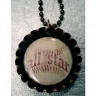 All Star Baseball Necklace