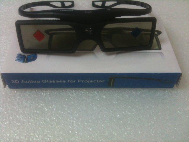 COMPATIBLE 3D ACTIVE GLASSES FOR VIEWSONIC PROJECTOR D6251 D6381 D5233 D5133 D5523w