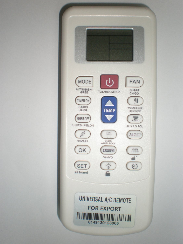 COMPATIBLE FOR Fujits AIR CONDITIONER REMOTE CONTROL ASU9RLF ASU18RLF