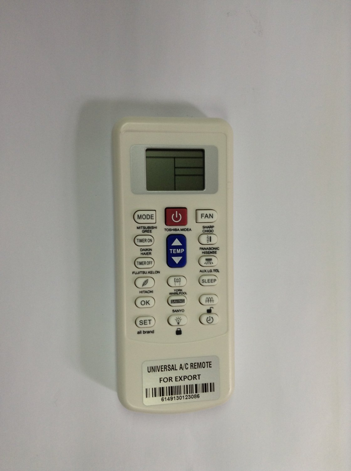 FOR PANASONIC AIR CONDITIONER REMOTE CONTROL CS-KE18NB4U KS24NKU