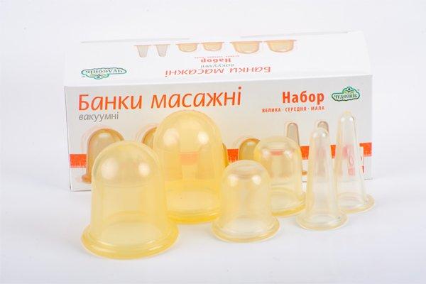 SET of 6 MASSAGE CUPS. HOME & SALON USE. ANTI-CELLULITE MASSAGE. DIFFERENT SIZES