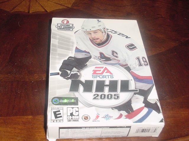 NHL 2005 PC game