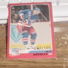 Limited number Alexei Kovalev card