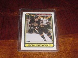 Igor Larionov rookie card