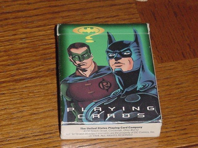 Batman & Robin playing cards
